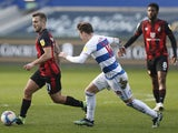 Queens Park Rangers' Stefan Johansen in action with AFC Bournemouth's Jack Wilshere on February 20, 2021