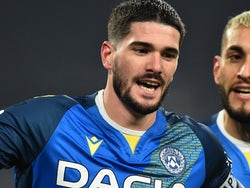 Rodrigo De Paul in action for Juventus on January 3, 2021