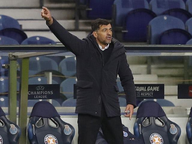 Porto head coach Sergio Conceicao pictured on February 17, 2021
