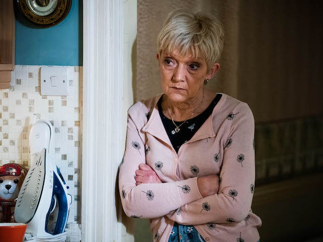 Jean on EastEnders on March 1, 2021