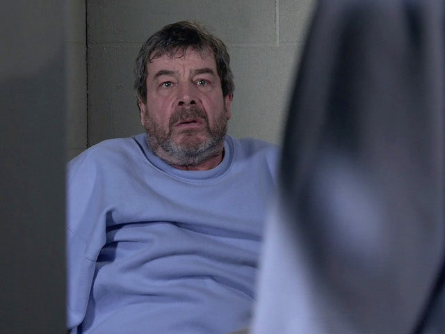Johnny on the first episode of Coronation Street on March 1, 2021