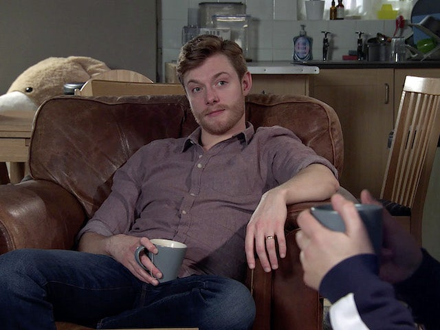 Daniel on the second episode of Coronation Street on March 3, 2021