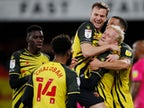 Result: Watford 2-1 Derby: Watford level with Brentford after narrow win