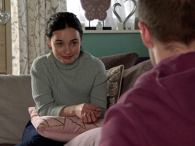 Alina on the second episode of Coronation Street on March 5, 2021