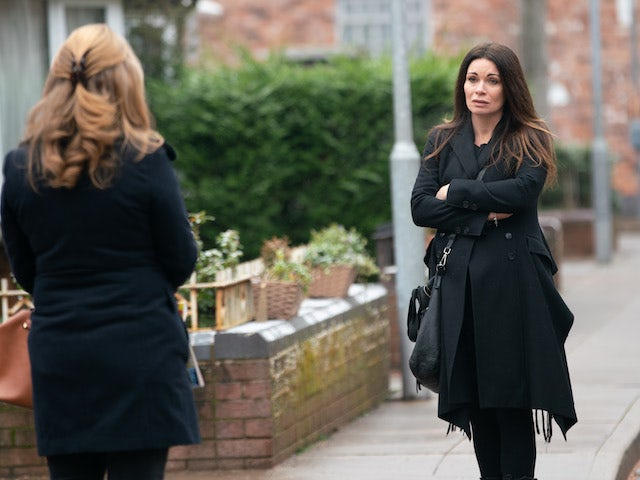 Carla on the second episode of Coronation Street on February 22, 2021