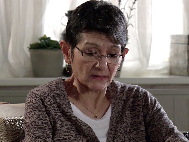 Yasmeen on the first episode of Coronation Street on February 22, 2021