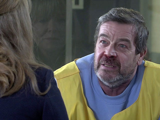 Johnny on the second episode of Coronation Street on March 1, 2021