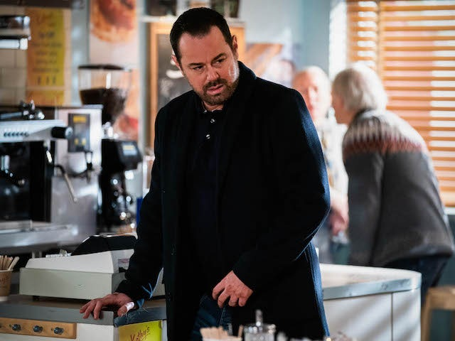 Mick on EastEnders on March 5, 2021