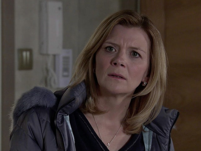 Leanne on Coronation Street on March 12, 2021