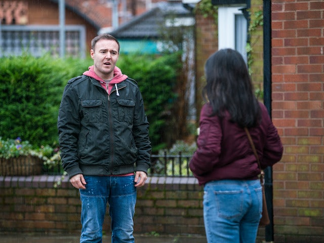 Tyrone on the first episode of Coronation Street on March 10, 2021