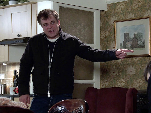 Steve on the first episode of Coronation Street on March 8, 2021