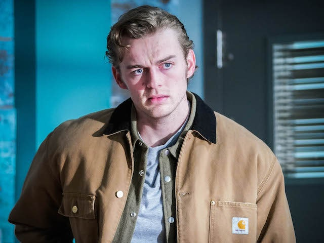 Peter on EastEnders on March 8, 2021