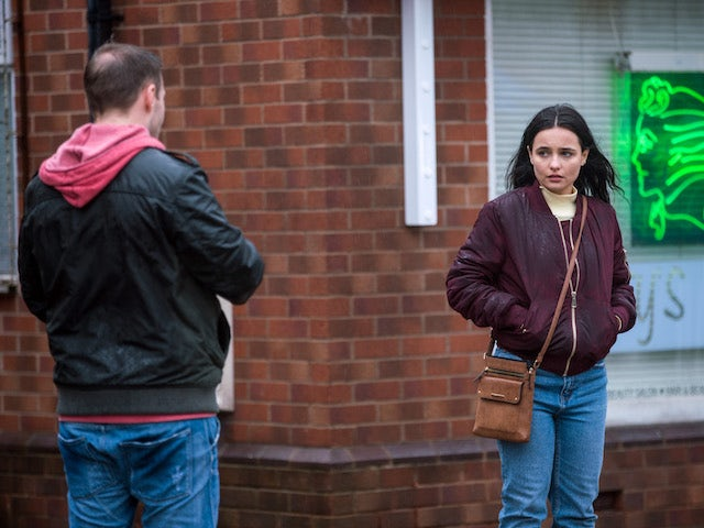 Alina on the first episode of Coronation Street on March 10, 2021