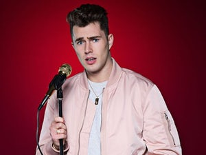 Curtis Pritchard 'booed off stage for lubricant sex joke'