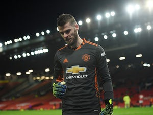 Man United's David de Gea touch and go for West Ham visit
