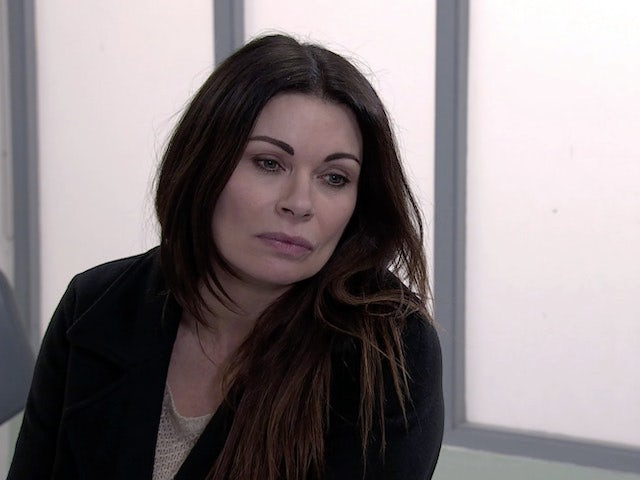Carla on the first episode of Coronation Street on March 10, 2021