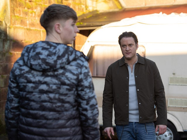 Luke on Hollyoaks on March 3, 2021