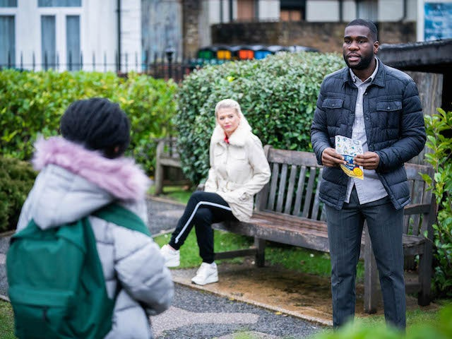 Isaac on EastEnders on March 11, 2021