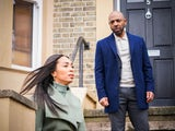 Lucas and Chelsea on EastEnders on March 12, 2021
