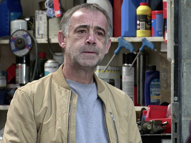 Kevin on the first episode of Coronation Street on March 10, 2021