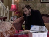 Peter on the first episode of Coronation Street on March 8, 2021