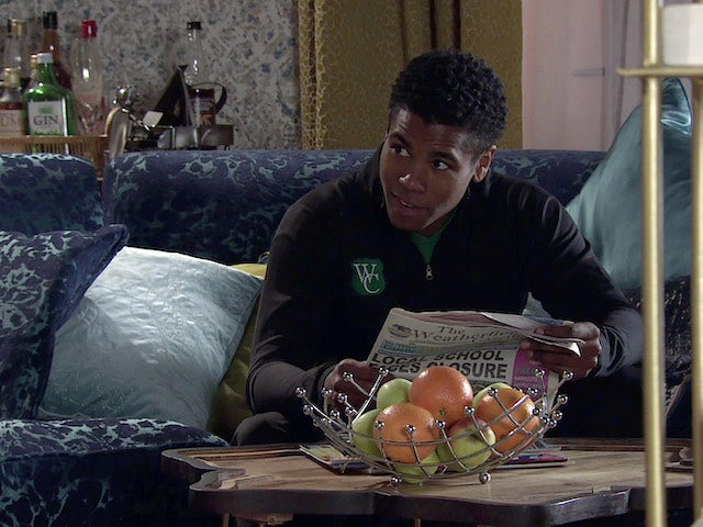 James on Coronation Street on March 12, 2021