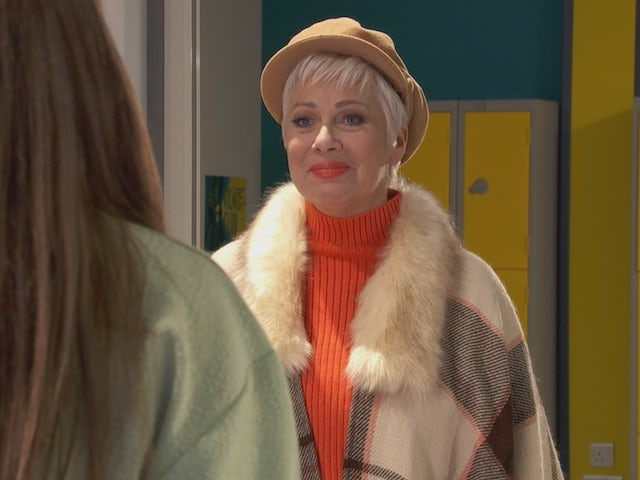 Trish on Hollyoaks on March 5, 2021