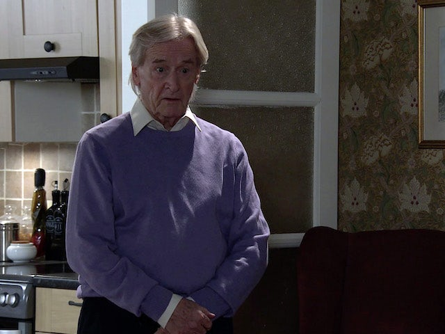 Ken on the second episode of Coronation Street on March 10, 2021