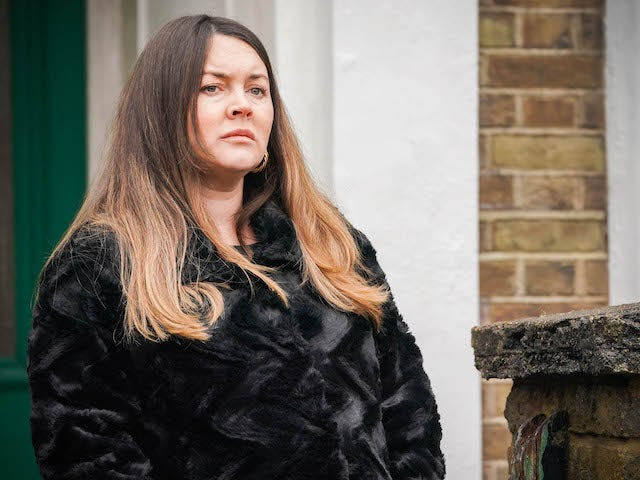 SATURDAY, MARCH 5 EMBARGO: Stacey on EastEnders on March 9, 2021