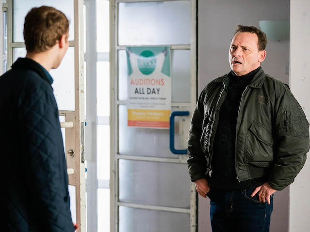 Billy on EastEnders on March 11, 2021