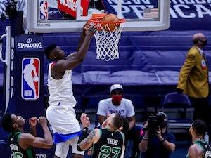 NBA roundup: Pelicans produce record-breaking comeback to beat Celtics