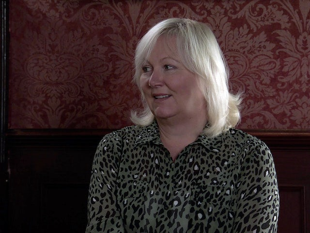 Eileen on the second episode of Coronation Street on March 8, 2021