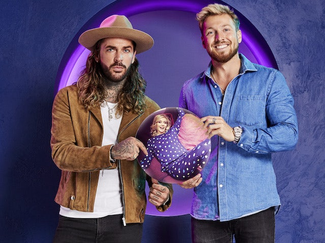 Pete Wicks and Sam Thompson on The Celebrity Circle