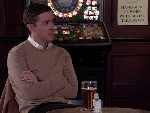 Todd on the second episode of Coronation Street on March 8, 2021