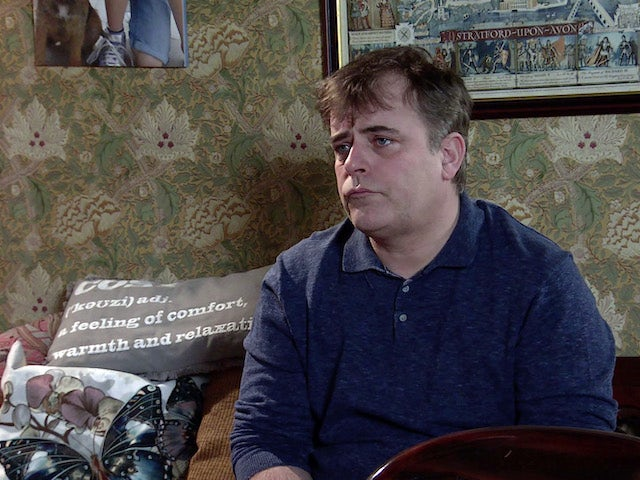 Steve on the second episode of Coronation Street on March 10, 2021