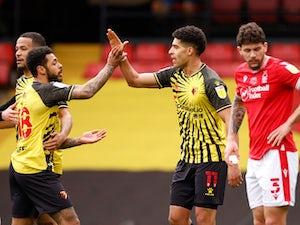 Watford 1-0 Nottingham Forest: Adam Masina propels Hornets into second