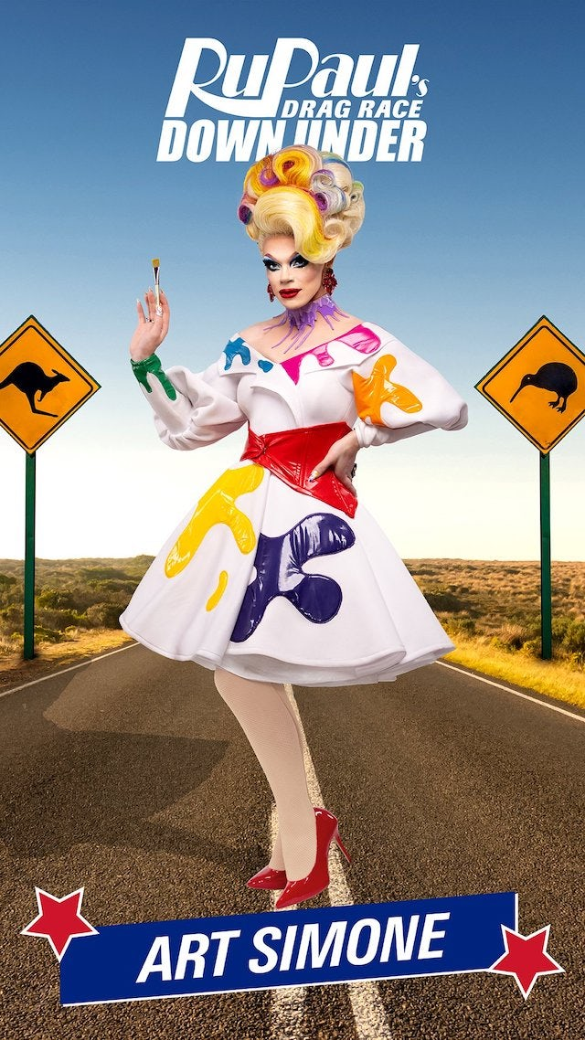 Art Simone on RuPaul's Drag Race Down Under