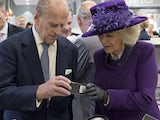 Camilla and Prince Philip visit the Poundbury branch of Waitrose in October 2016