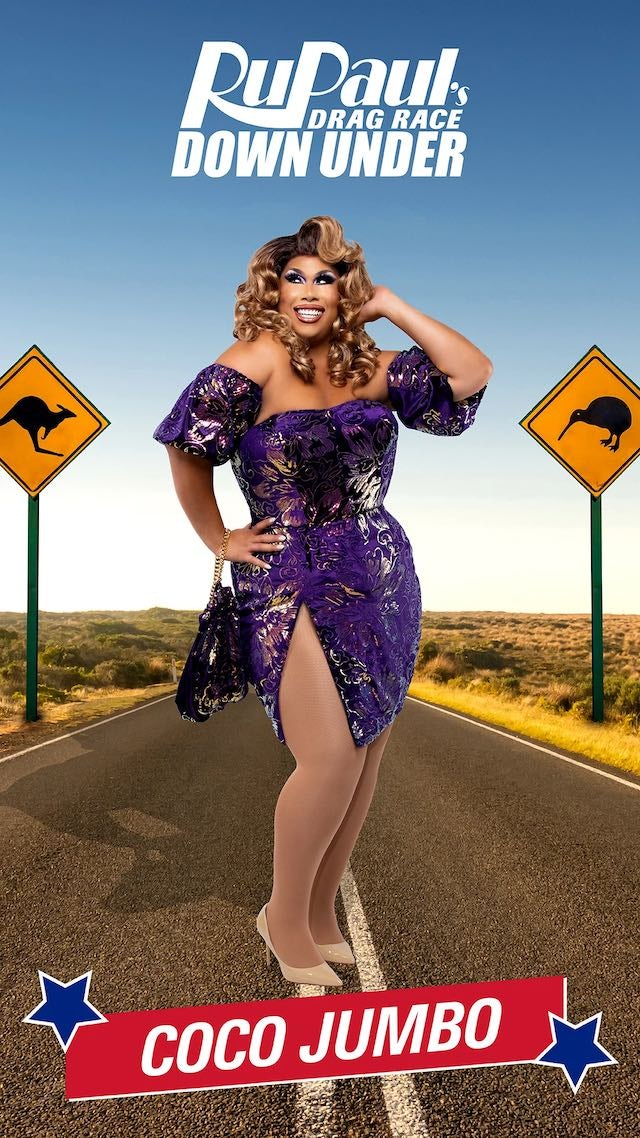 Coco Jumbo on RuPaul's Drag Race Down Under
