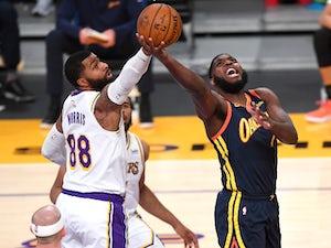 NBA roundup: LeBron James stars as Lakers end Warriors' winning streak