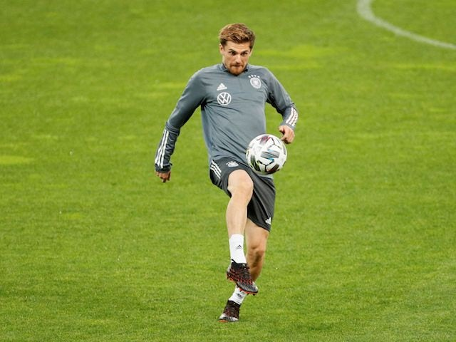 Germany and Borussia Monchengladbach midfielder Jonas Hofmann pictured in October 2020