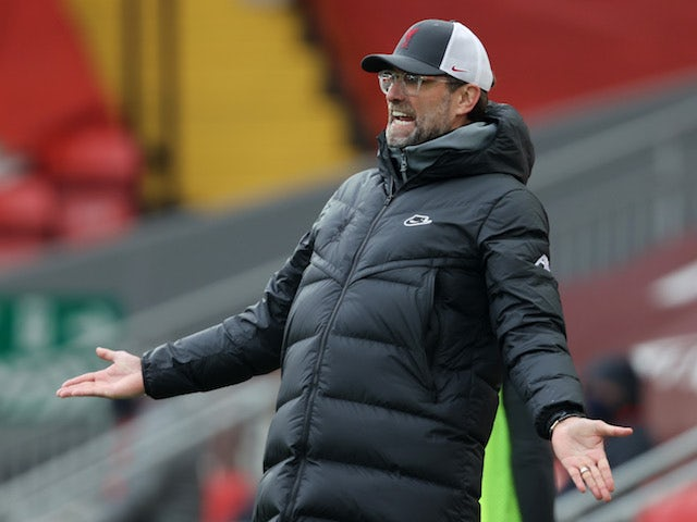 Jurgen Klopp feels decision not to award Sadio Mane foul was