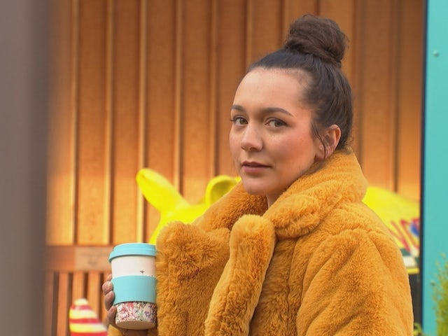 Cleo on Hollyoaks on March 8, 2021