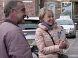 Kevin and Sally on the first episode of Coronation Street on March 15, 2021