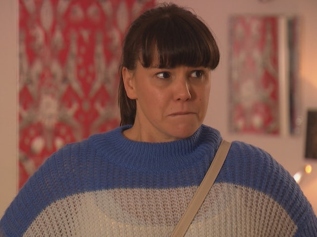 Nancy on Hollyoaks on March 10, 2021