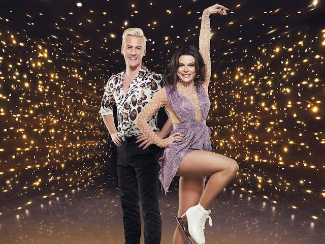 Matt Evers and Faye Brookes on Dancing On Ice