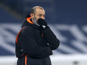 Wolves 'begin search for Nuno successor'