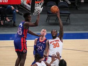 NBA roundup: Julius Randle inspires Knicks to win over Pistons