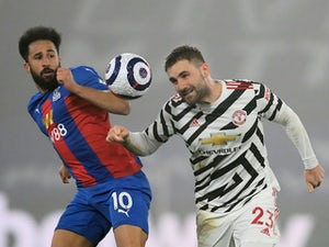Palace 0-0 Man United: Solskjaer's side fall short at Selhurst Park