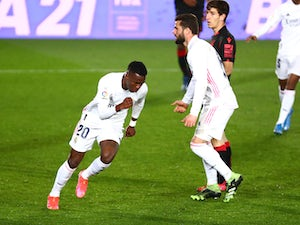 "Vinicius Junior ""delighted"" to mark 100th Real Madrid game with a goal"